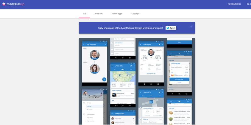 materialup google material design inspiration gallery