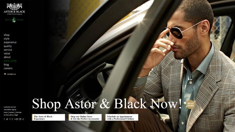 astor and black website custom tailor