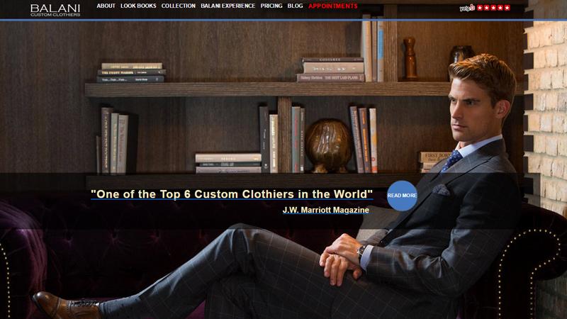 balani custom tailor bespoke suits chicago