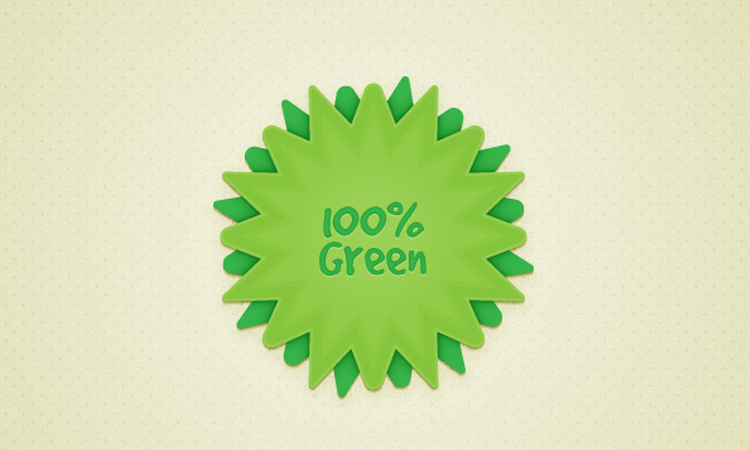 badge design vector green howto