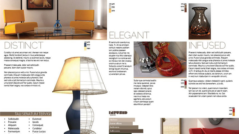 trifold brochure indesign