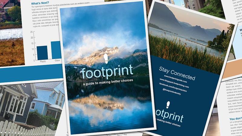 multipage brochure design